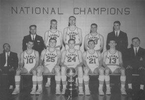 1964-65 Axemen's Basketball