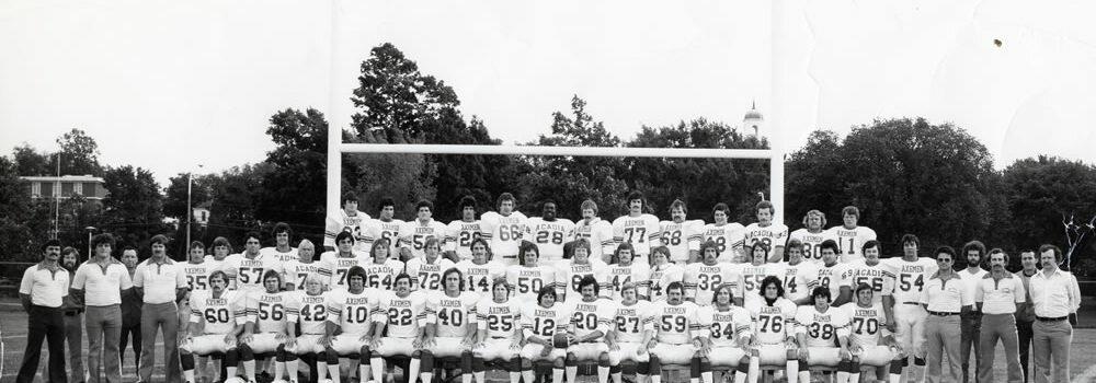 1977-1978 FOOTBALL AXEMEN