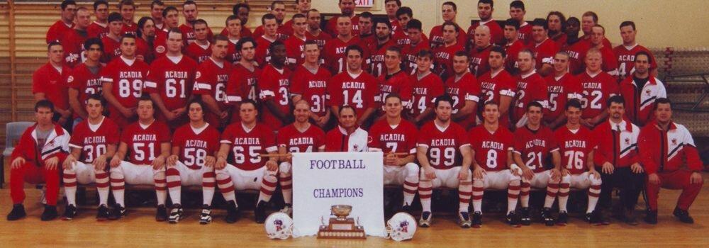 1995 Acadia Football Axemen